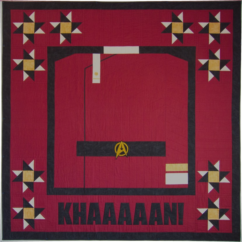 Star Trek: Wrath of Khan Custom Quilt