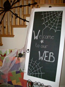Welcome to our Web Chalkboard