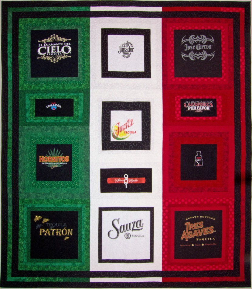 The Quilt of the 12 Tequilas