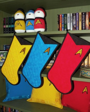 Star Trek Christmas Stockings