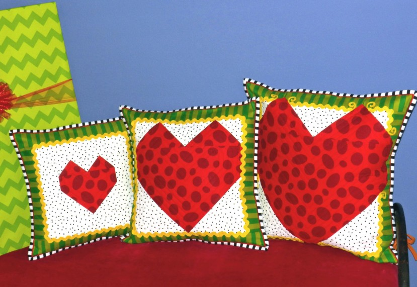 Grinch Pillows