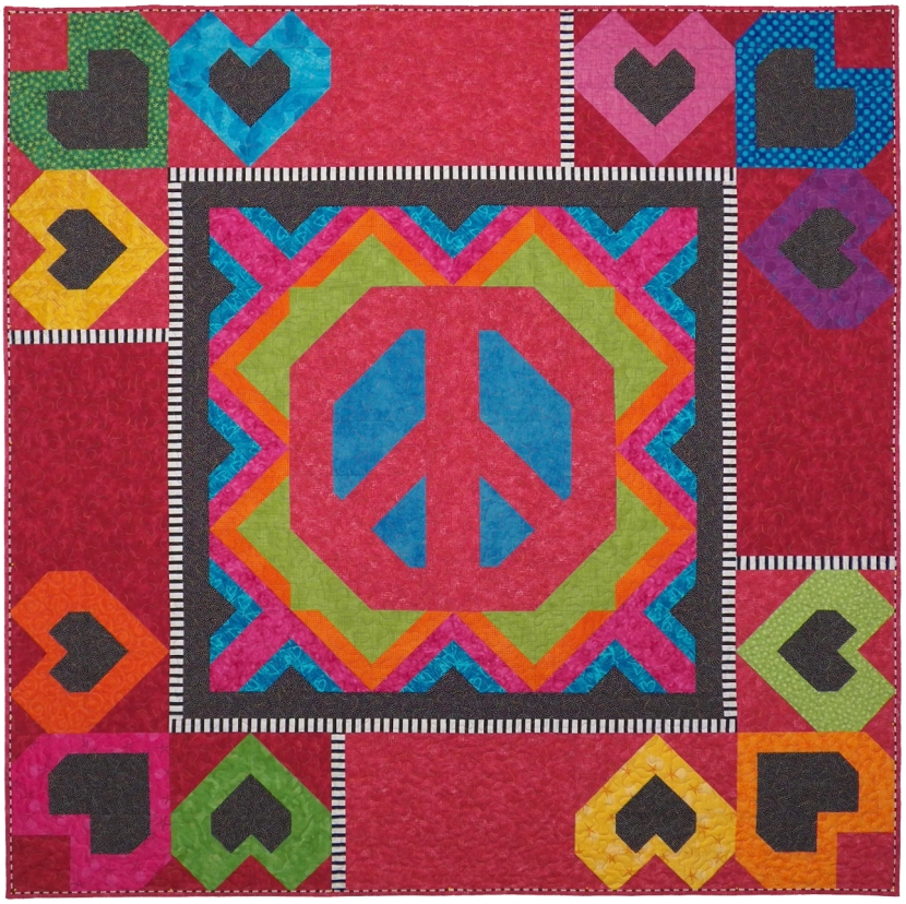Peace Sign Quilt