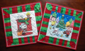 Santa Snoopy Pillows