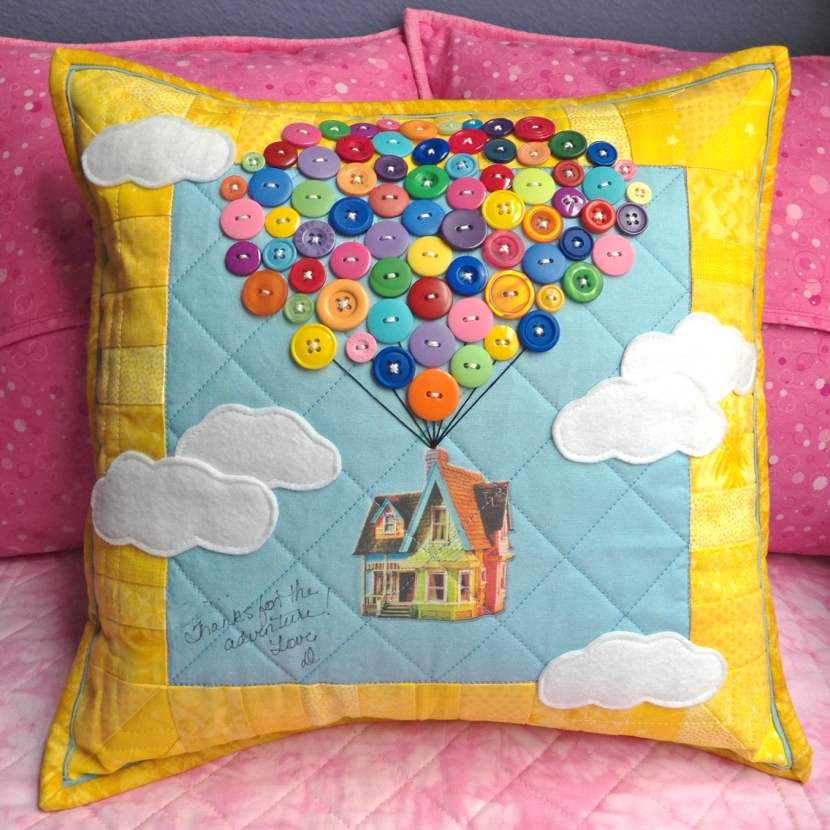 Up Inspired Adventure Pillow