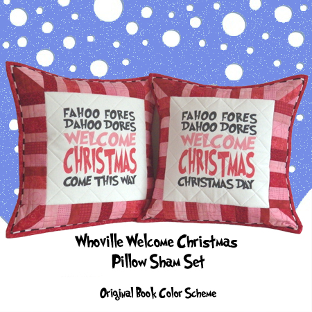 Welcome Christmas Pillow Set