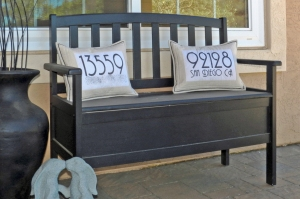House Number Pillows