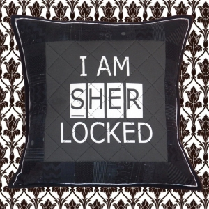 I Am SHER Locked Pillow
