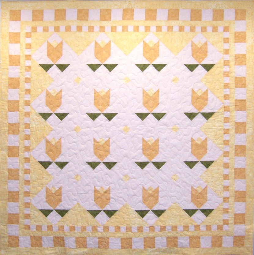 Yellow Tulips Quilt