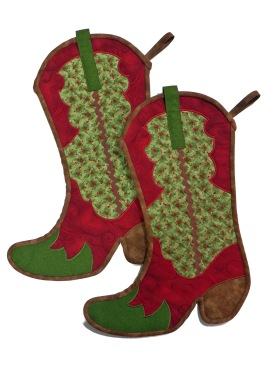 Cowboy Boot Stockings
