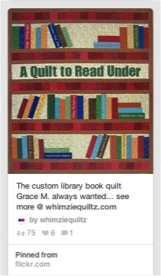 A Quilt to Read Under Pin