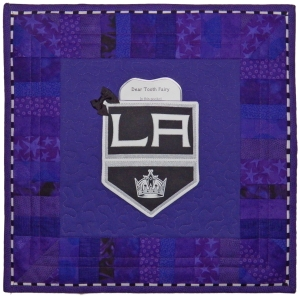 LA Kings Tooth Fairy Pillow