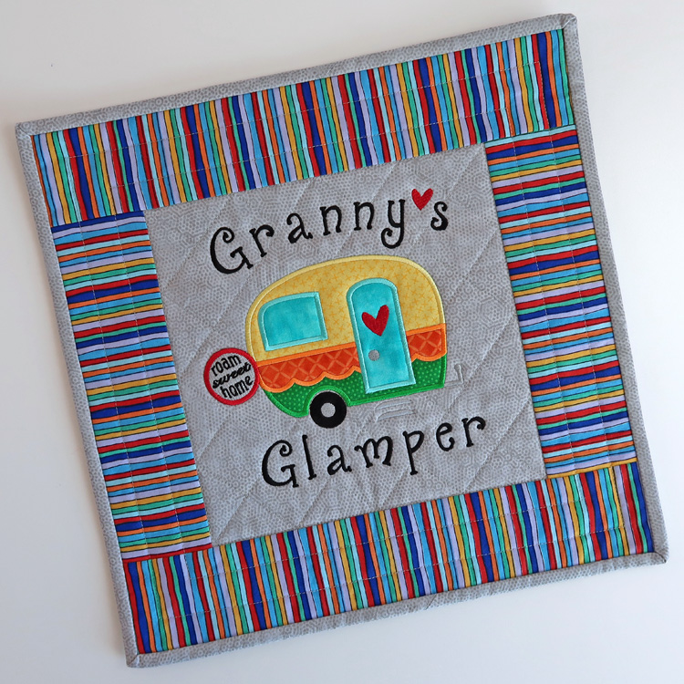 GrannysGlamperPillow