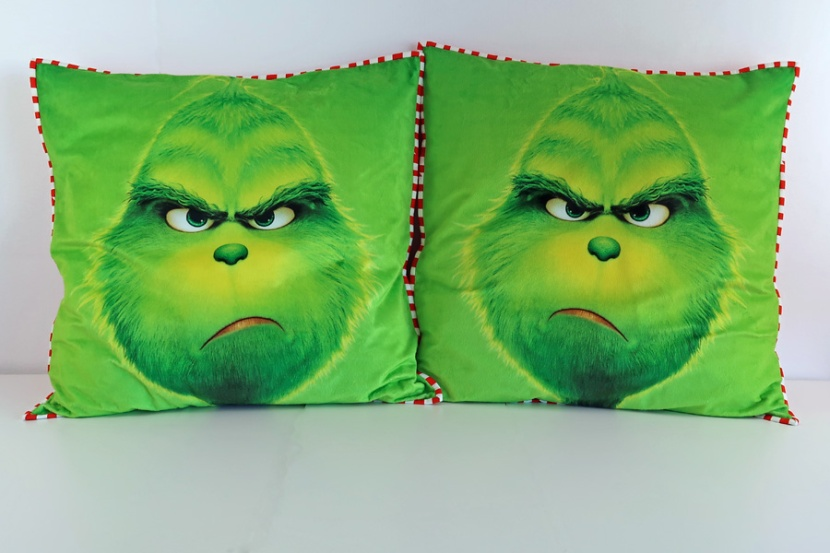 GrinchMinkyPillows