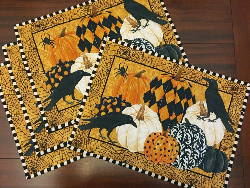 HalloweenPlacemats